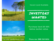 Florida investment vacant land deals